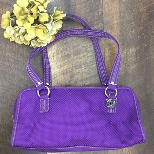 The Sak purple satchel.